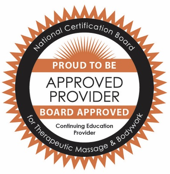 approved provider for Therapeutic Massage and Bodywork